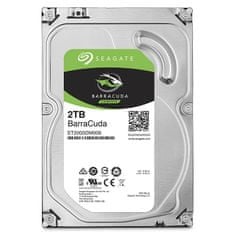 Seagate trdi disk BarraCuda 3.5, 2TB, Sata 3, 6GB/s, 7200 obratov