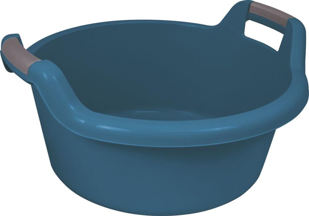 Curver Vanička kulatá s uchy 27 l, modrá