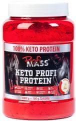 ProfiMass Keto Profi Protein 1100g Bílá čokoláda