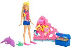 Mattel Barbie Delfinvarázs Játék szett