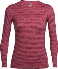 Icebreaker koszulka termiczna Wmns Oasis LS Crewe Diamond Line