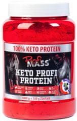 ProfiMass Keto Profi Protein 1100g Fekete áfonya