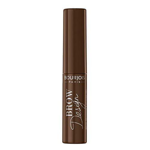 Bourjois Fixující řasenka na obočí (Brow Design Mascara) 5 ml (Odstín 003 Tmavě hnědá)