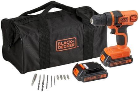 Black+Decker EGBL18BA10S-QW Akkus fúró-csavarozó
