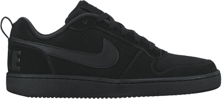 Nike buty Men'S Court Borough Low Shoe Black/Black 47