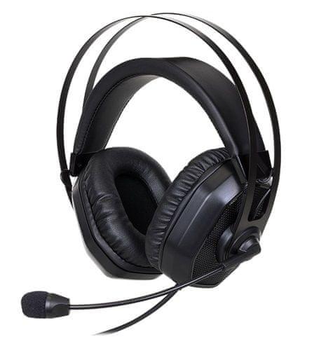 Cooler Master Masterpulse MH320 herní sluchátka s mikrofonem, černá