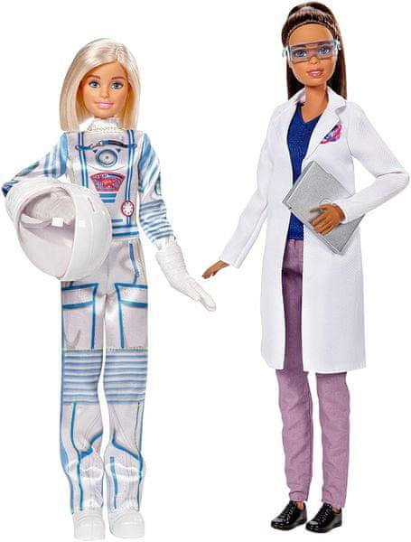Mattel Barbie s kamarádkou Astronautka a vesmírná vědkyně