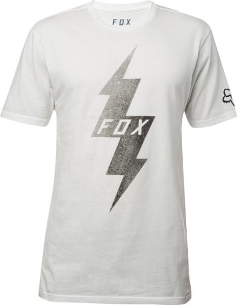 FOX pánské tričko Pre Mortum SS Premium S bílá