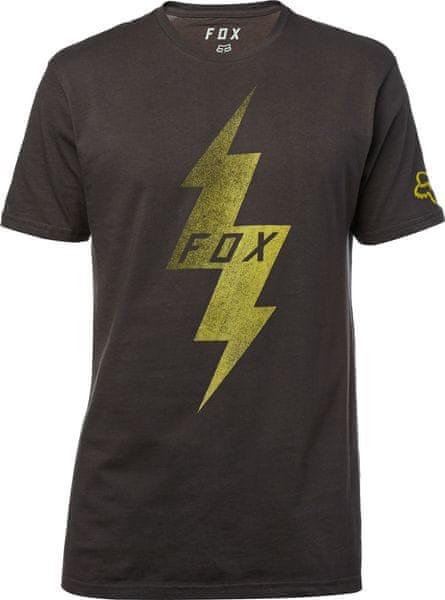 FOX pánské tričko Pre Mortum SS Premium S černá