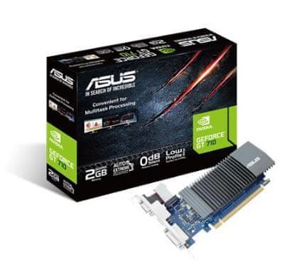 Asus grafična kartica GeForce GT710, 2GB, DDR5