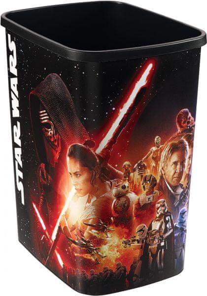 Curver Koš na odpadky 25 l Star Wars