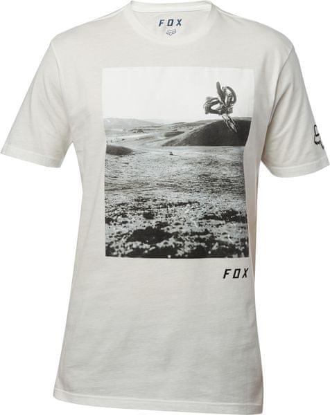 FOX pánské tričko Picogram SS Premium XXL bílá