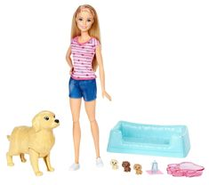 Mattel Barbie rojstvo malih mladičkov