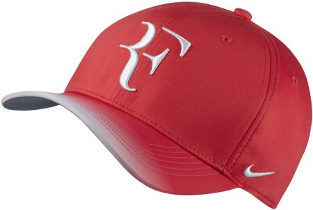 Nike kapa s ščitnikom Roger Federer NK AeroBill CLC99, rdeča