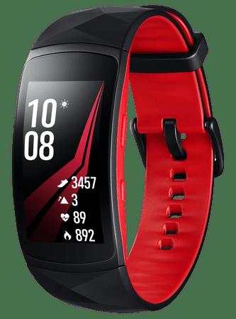 Samsung smartwatch Gear Fit2 Pro, czerwony