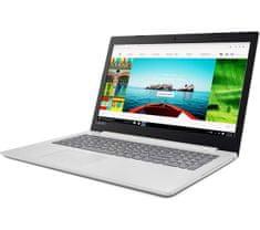 Lenovo prenosnik IdeaPad 320 N4200/4GB/SSD 128GB/15,6FHD/FreeDOS, bel