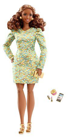 Mattel Barbie könnyed ruhában The Look Metallic