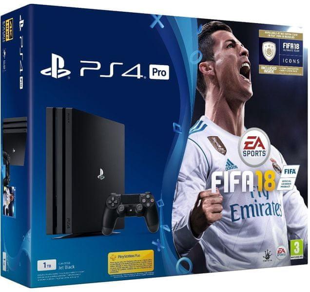 Sony PlayStation 4 Pro - 1TB + Fifa 18