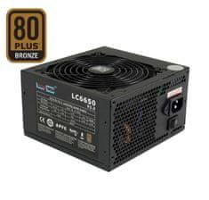 LC Power napajalnik Super Silent LC6650 V2.3 650W, 80Plus, ATX