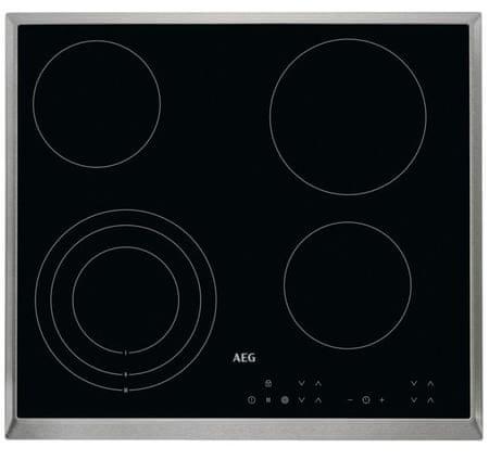 AEG električna kuhalna plošča HK634020XB
