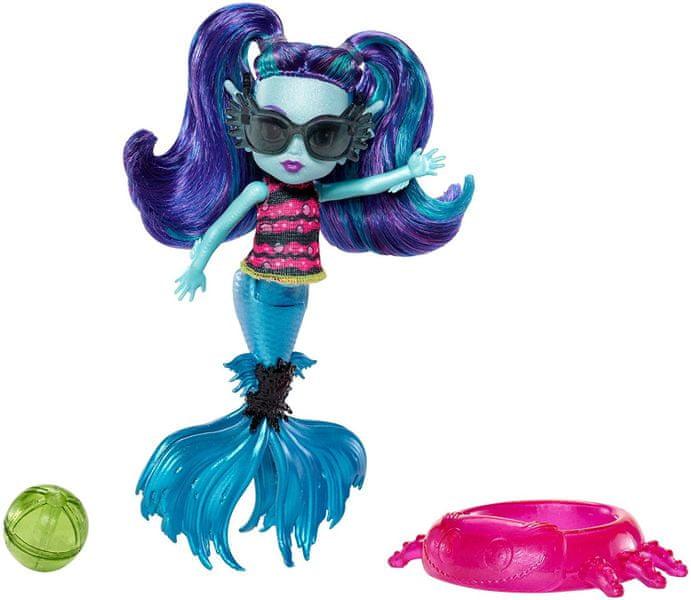 Mattel Monster High Sourozenci Ebbie Blue