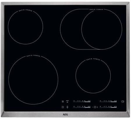 AEG steklokeramična kuhalna plošča HK654850XB