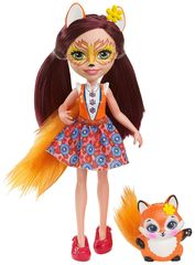 Mattel Enchantimals panenka se zvířátkem Felicity Fox