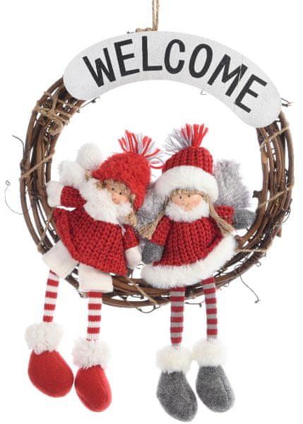 Kaemingk Vánoční dekorace na dveře
