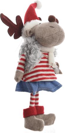 Kaemingk figurka Renifer dziewczynka, 9 cm