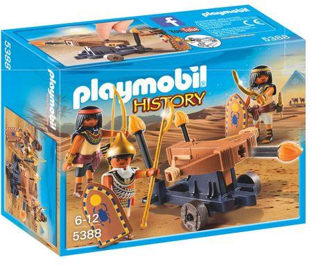 Playmobil 5388 Egyiptomi harcos tüzes számszeríjjal
