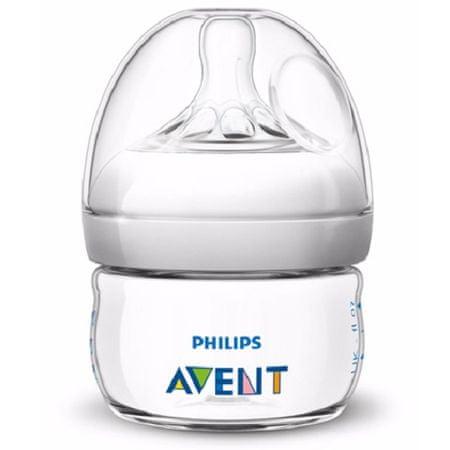 Avent steklenička Natural, 60 ml