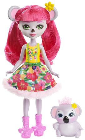 Mattel Enchantimals Lalka + zwierzątko Karina Koala