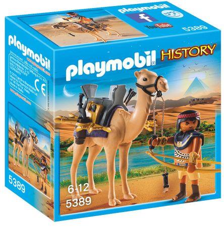 Playmobil 5389 Egyiptomi harcos tevével