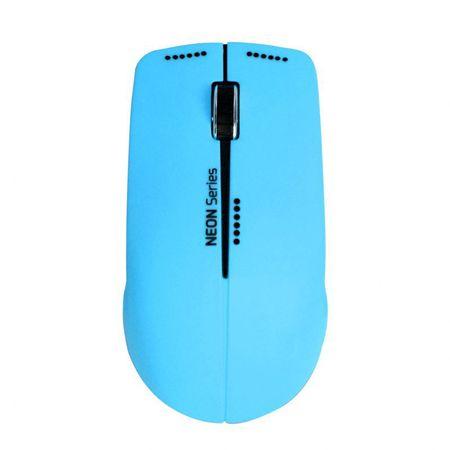 Port Designs Neon bezdrátová myš, 1200DPI, + podložka, modrá (900500)