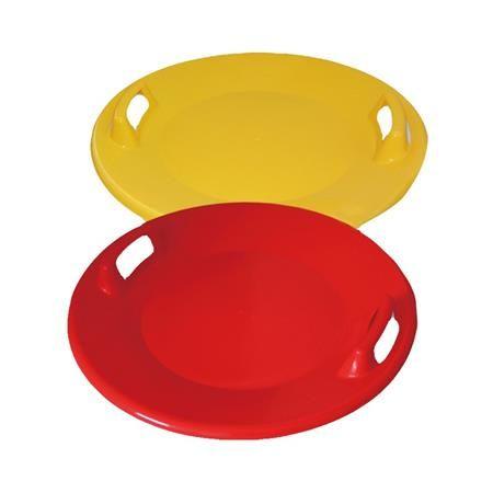 Spartan krožnik za sankanje UFO, rdeč