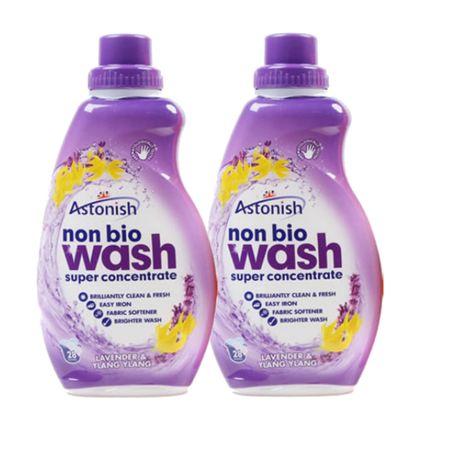 Astonish detergent za ročno in strojno pranje, sivka in yland ylang, 2 x 840 mL