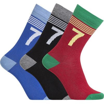 CR7 nogavice za dečke, 3 kosi, št. 30-34 (8470-80-401)