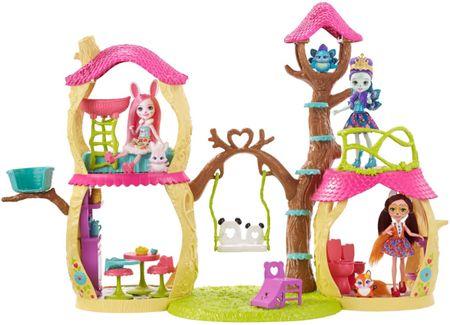 Mattel Enchantimals Prue Panda Zestaw Leśny Domek