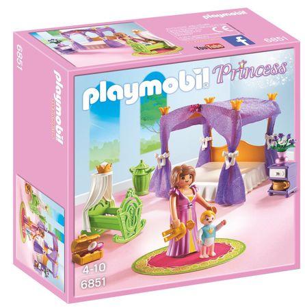 Playmobil 6851 Princesina soba z zibeljko