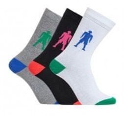 CR7 nogavice za dečke, 3 kosi, št. 35-39 (8470-80-405)