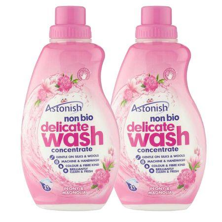 Astonish detergent za ročno in strojno pranje občutljivega perila, potonika in magnolija, 2 x 840mL