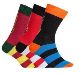 CR7 nogavice za dečke, 3 kosi, št. 30-34 (8470-80-409)