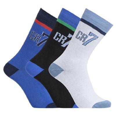 CR7 nogavice za dečke, 3 kosi, št. 30-34 (8470-80-407)
