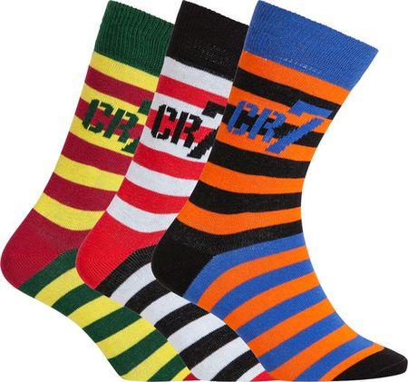 CR7 nogavice za dečke, 3 kosi, št. 35-39 (8470-80-411)
