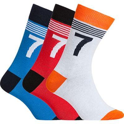CR7 nogavice za dečke, 3 kosi, št. 30-34 (8470-80-412)