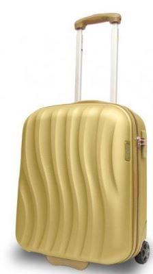 Travel and More potovalni kovček, 50 x 10 x 20 cm, 32 L, zlat/zlat