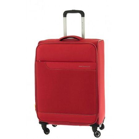 Roncato kovček 4W Expandable Hydra, srednji, 70 L, rdeč