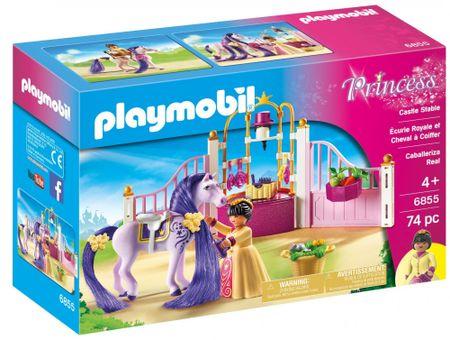 Playmobil 6855 Kráľovské stajne