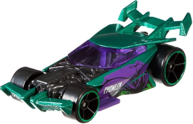 Hot Wheels Tématické auto Marvel Spiderman Drift King