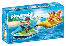 Playmobil Jet-Ski húzta banánhajó (6980)